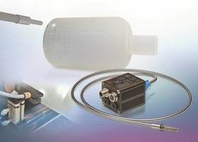 New colorSENSOR CFO100 Color Sensor Can Detect Semi-Transparent Glass Bottles