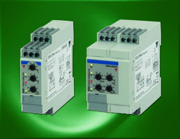 New Three Phase Monitoring Relays Feature Switch Mode Power Supply