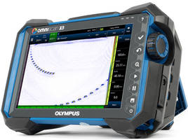 New OmniScan X3 Flaw Detector Makes Analysis and Reporting Fast