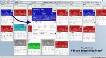 New and Enhanced Touch Scheduling Software Build using Microsoft's .NET and SQL Server Technologies