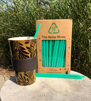 Exhemplary Life Introduces New Straws Made From Hemp, Sugar and Cornstarch
