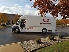 New C1000 Electric Delivery Vehicle from Workhorse Comes with Modular Battery Technology