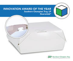 Southern Champion Tray's Guarantab© Wins Innovation of the Year Award at Paperboard Packaging Council's Carton Competition