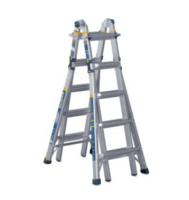 New Multi-Position Pro Ladders with 375lb. Load Rating Per Side