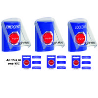 New Push Button Kits Available in Blue, Yellow and Green