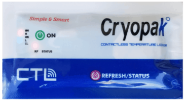 New CTL Data Logger from Cryopak is Compatible with Android and iOS devices