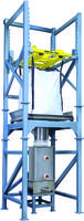 New Model 821 Bulk Bag Unloader with Pneumatically Operated Hoist and Trolley
