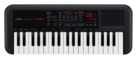 New PSS-A50 Keyboard Features 40 Instrument Voices Plus Two Drum Kits