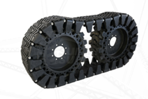 New Over Tire Tracks from Summit Supply are Made with Rubber
