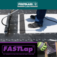 Polyglass Adds Granule-free End Lap to Polyflex® G for Ease of Installation