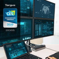 Targus® Named CES® 2020 Innovation Awards Honoree for World's First USB-C™ Universal Quad 4K Docking Station with Power