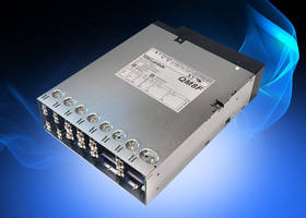 New QM8B Modular Power Supplies Available with up to 18 Outputs