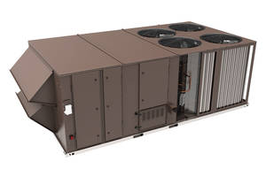 New 15-27.5 Ton Rooftop Units are Ideal for Construction and Replacement Markets