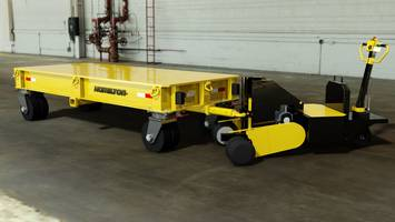 New e-Power Pushers Designed to Push or Pull in-plant Trailers with Load Capacities between 3,000 and 100,000 lbs