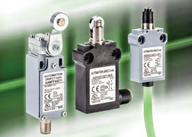 New AEP Series Compact Limit Switches with 25mm Mounting Hole Spacing
