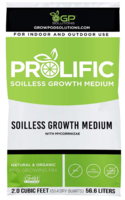 New Prolific Soilless Growth Medium and Prolific Hydro for Home and Commercial Growers