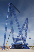 New AFRD Super Crane Features Boom Capacity of 4000-tons