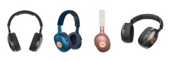 New Positive Vibration XL Headphones Feature 40mm Hi-definition Drivers