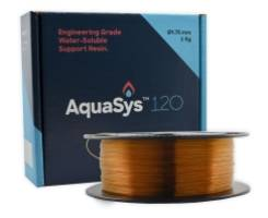 New Aquasys 120 3D Printing Support Materials Available in 1.75 mm and 2.85 mm Diameter Filament