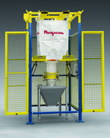 New BULK-OUT Model BFF Bulk Bag Discharger with Z-CLIP Strap Holders