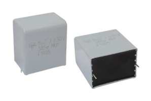 New Radial Potted Capacitors Available in Eight Rated Voltages from 400 VDC to 2500 VDC