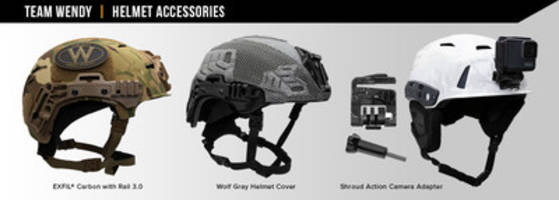 Team Wendy® Launches Assortment of New Helmet Accessories