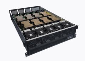 New Compute Acceleration Expansion Platform Supports 8 Passively Cooled SXM2 V100 GPU Modules