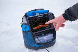 New LiveSight Sonar Ice Transducer Delivers Real-time Views of Fish Movements Below The Ice