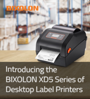 New XD5-40d and XD5-43d Desktop Label Printers Available in 203dpi and 300dpi Configurations Respectively