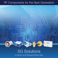 New 5G RF Solutions Support 5G Innovation, Testing and Deployments