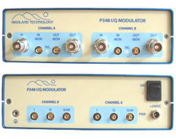 New P348 Quadrature Modulator Comes with Half-Rack Mounting Option