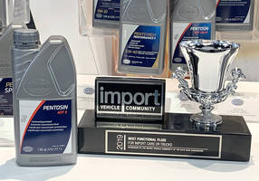 CRP Automotive Wins 2019 Best Functional Fluid Award for Pentosin ATF 9 Automatic Transmission Fluid