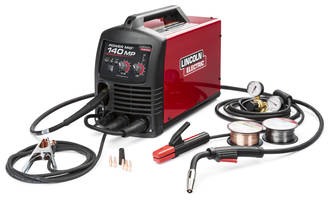 New POWER MIG 140 MP Welder Features Brass-to-brass Gun Connection