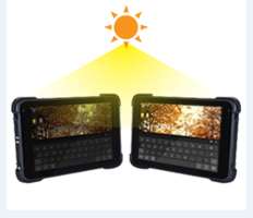 New Rugged Tablet PCs Available with Sunlight Readable LCDs