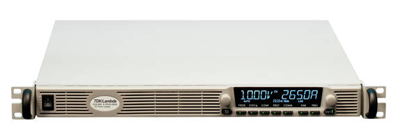 New 2.7kW Power Supply Series Include Conversion Efficiencies up to 90.5% with Cooling Fan Speed Control