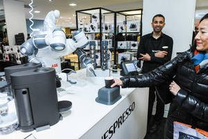 ABB Robots Ring in the Holiday Season at Bloomingdale's Iconic New York Flagship Store