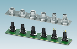 New Two-piece M8 Device Connectors Suitable for Currents up to 4 A and 50 VAC or 60 VDC