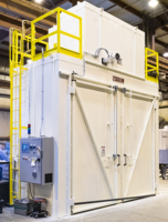 Wisconsin Oven Ships Heat Treating Batch Oven to Technology Industry