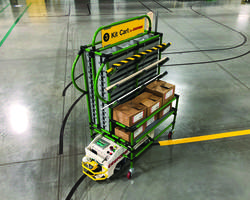 New Tite-Space BST AGV and Kitting Cart Comes with Category 2 Safety Features