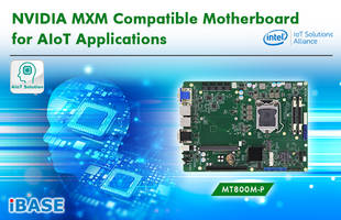 New NVIDIA MXM Compatible Motherboard Supports 8th Generation Intel Core Processor Family