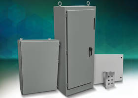 New Hammond Industrial Enclosures Available In Wall-Mount, Floor-Mount and Freestanding Form Factors