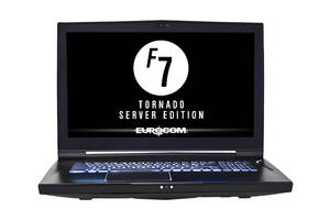 EUROCOM's Tornado F7SE Lightweight Out-of-the-Box Mobile Server Solution Runs Microsoft Server 2012R2, 2016 and 2019 On-the-Go! No Server Room Required