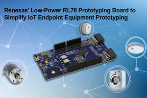 New RL78 Prototyping Board from Renesas Comes with On-Board Emulator Circuit