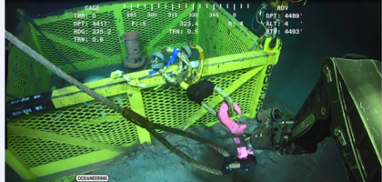 RUD ROV Hooks for Subsea Installations