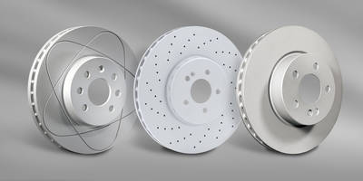 New ATE Disc Brake Rotors Manufactured from High Quality OEM Materials