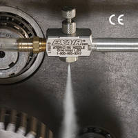 New 1/8 NPT Siphon Fed Spray Nozzles are CE Compliant and Corrosion Resistant