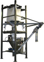 New Bulk Bag Unloading System Includes Bulk Bag Discharging, Crane Bag Lifts and bag Massagers