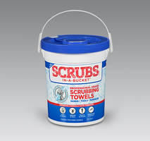 New Scrubbing Towels Clean Hands, Arms, Tools and All Types of Surfaces
