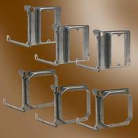 New Hinged Mud Rings Offer Flexibility to Electricians for Fast Rough-in Electrical Work