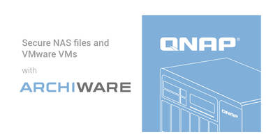 QNAP Supports Archiware P5 and Pure to Offer Feature-rich Cloud, Tape, and Free VMware VM Backup